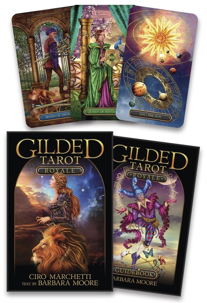 Gilded Tarot Royale Kit