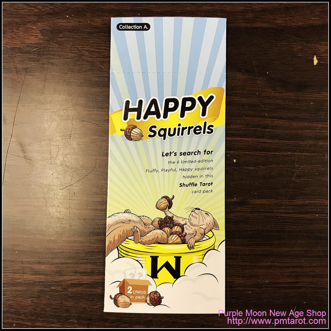The Happy Squirrel Surprise Pack A