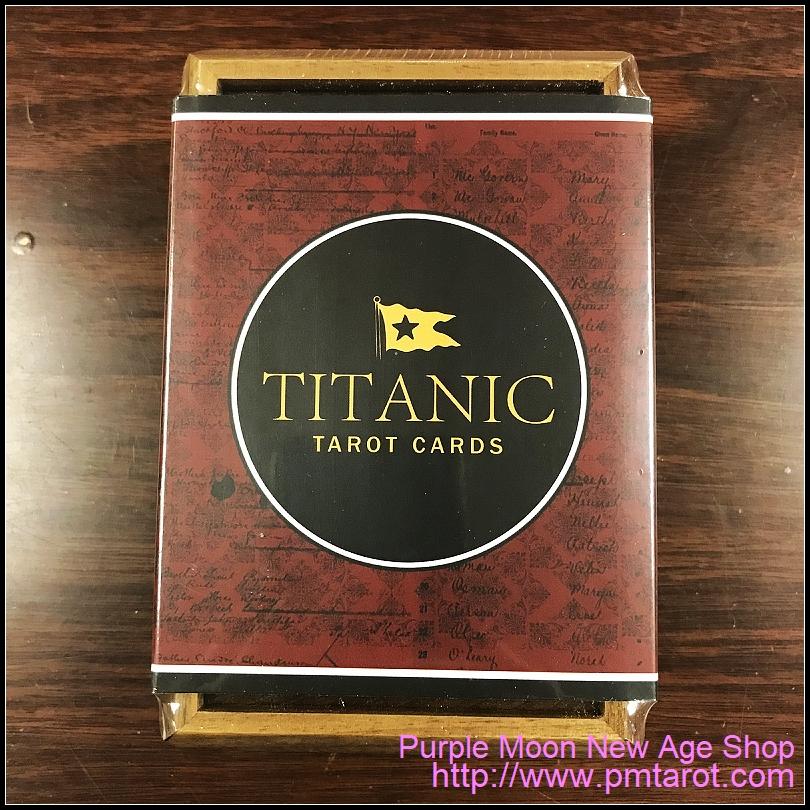 Titanic Tarot Cards - Wooden Box Edition