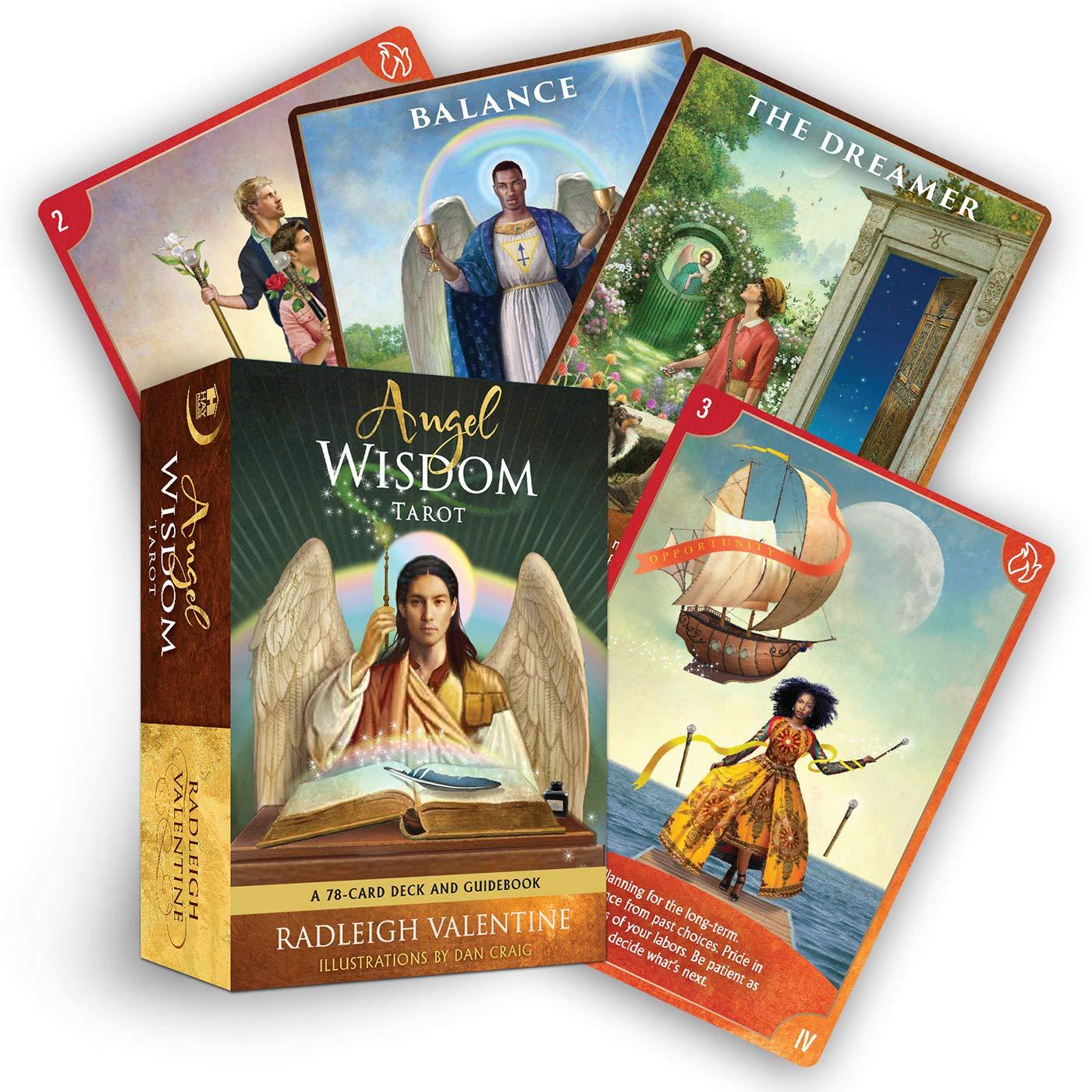 Angel Wisdom Tarot : A 78-Card Deck and Guidebook