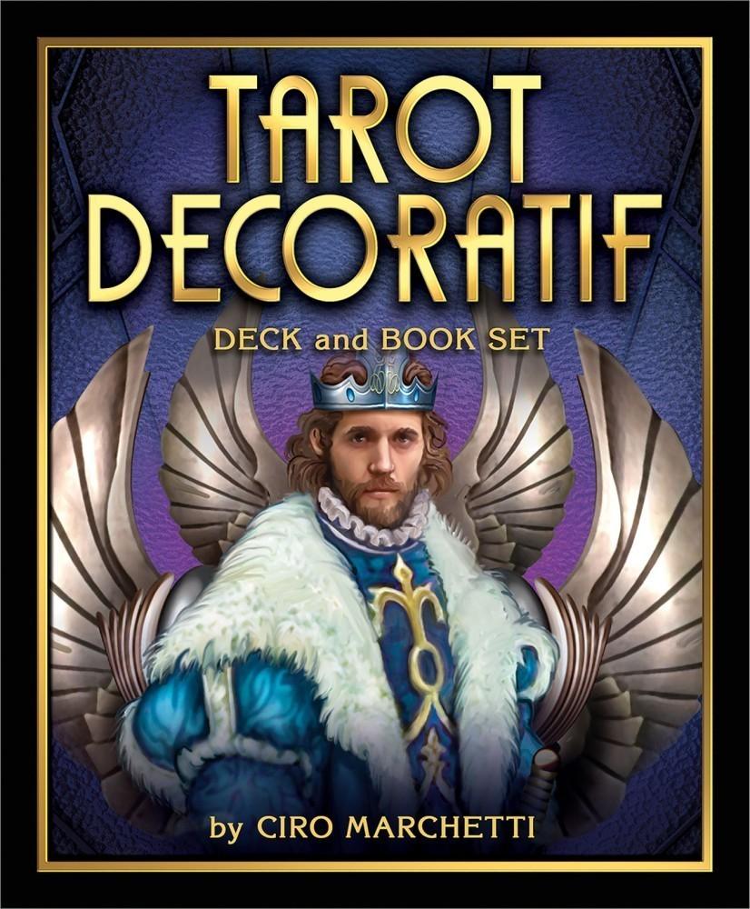 Tarot Decoratif Deck and Book Set