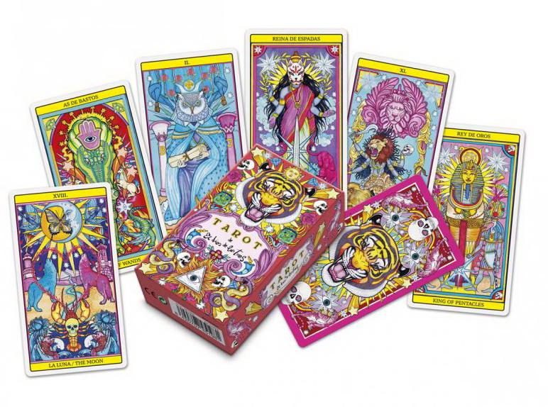 Tarot El Dios De Los Tres (The God Of The Three Tarot)