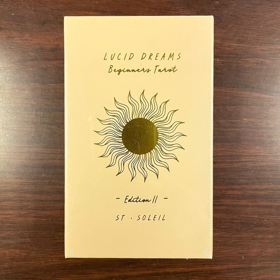 'Lucid Dreams' For Beginners • Tarot Deck 2nd Edition (Pre-order June 2021)