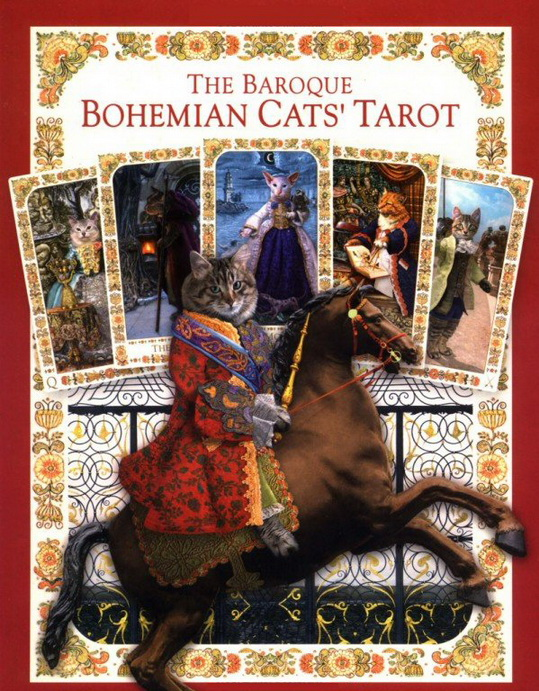 Baroque Bohemian Cats Tarot Deck/Book Set Limited Edition