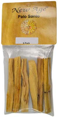 6 Pack Palo Santo Smudge Sticks