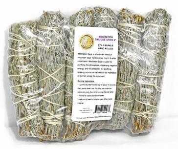 Meditation Smudge Stick 6-Pack