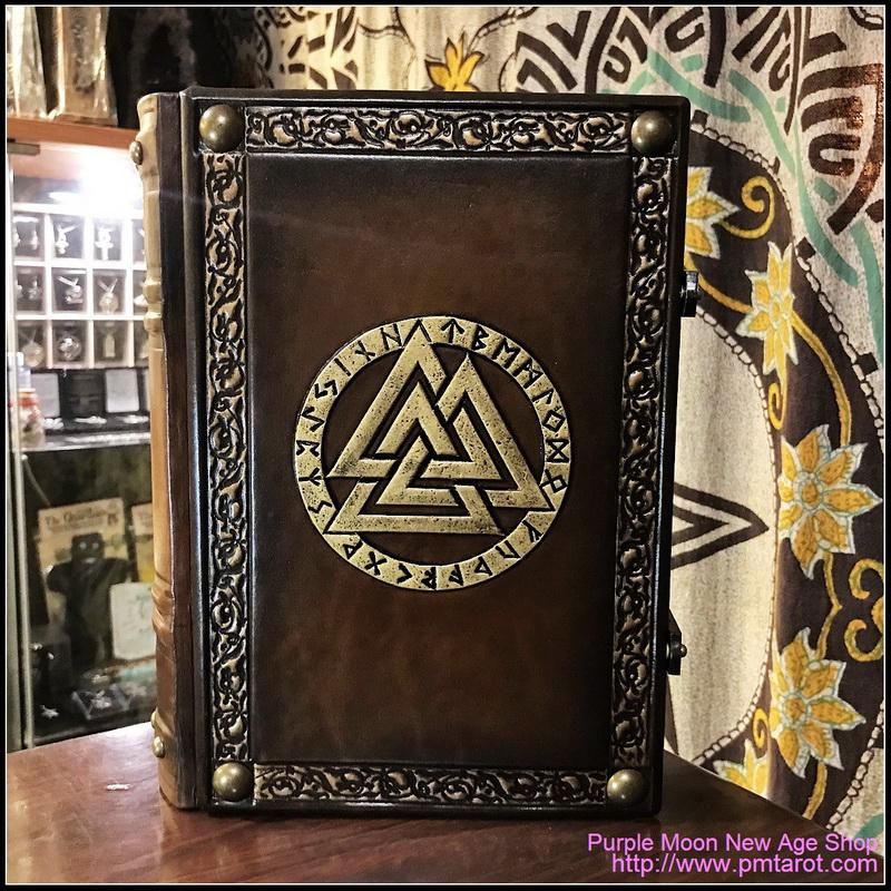 Books of Shadows Leather w/Valknut