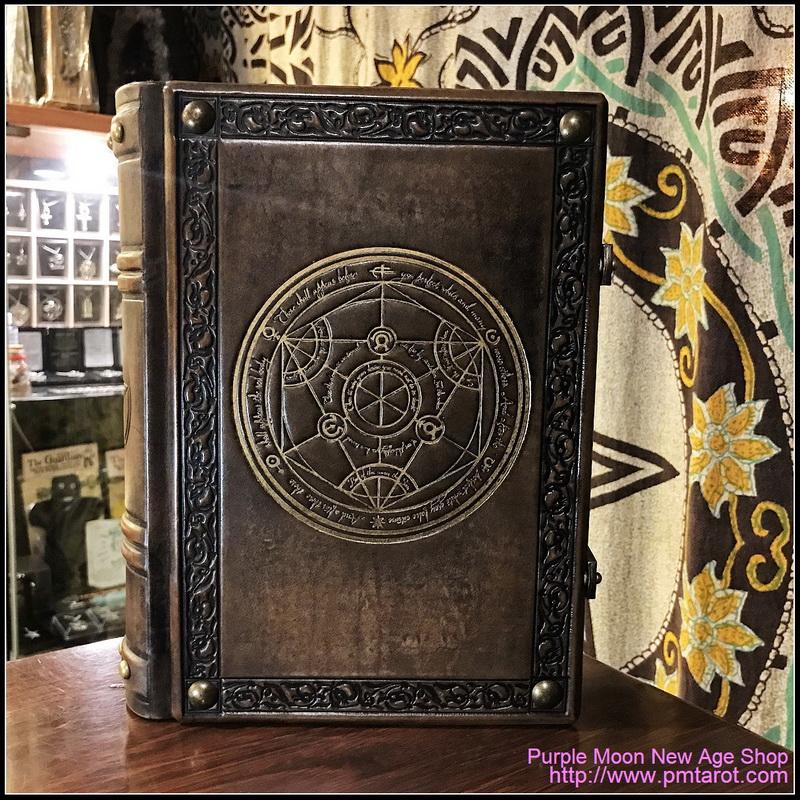 Books of Shadows Leather w/Alchemy
