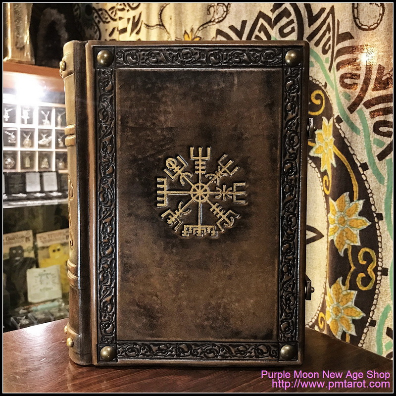 Books of Shadows Leather w/Vegvisir