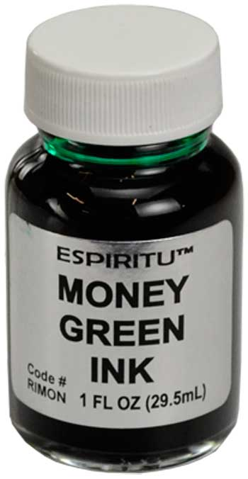 Inks - Money Green ink