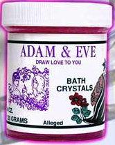 Bath Crystal - Adam & Eve